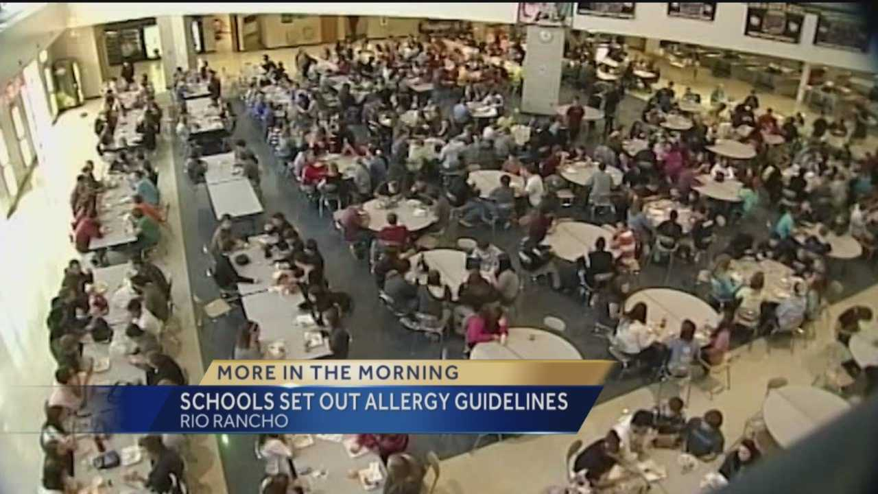 Rio Rancho School Allergy Guidelines