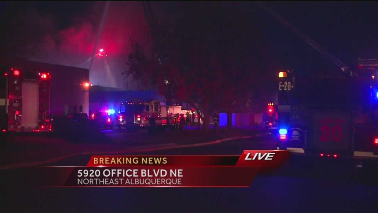 Structure Fire Overnight Breaking News