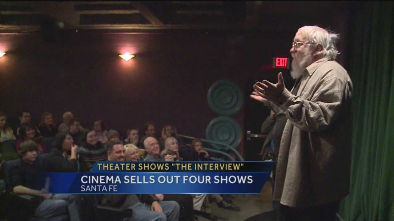 """Threats of violence weren't enough to keep New Mexicans from seeing a controversial movie. """"The Interview"""" was released in just a few hundred theaters today, including one in Santa Fe. Action 7 News reporter Kirsten Swanson tells us why some people felt it was their duty to see the film."""