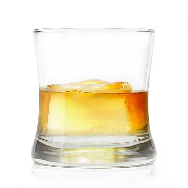 One fluid ounce of 86 proof whiskey is about 70 calories.