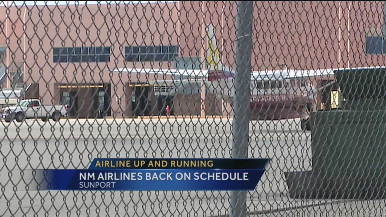 After mass cancellations, New Mexico Airlines is finally getting back in the air.