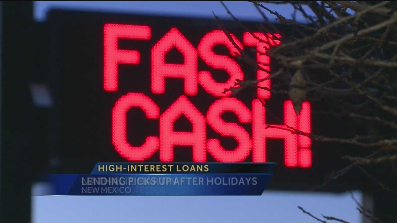 Many people looking to fatten their wallets after holiday spending are turning to storefront lending companies. Action 7 News reporter Laura Thoren spoke to a UNM professor about why those loans could get you in more trouble.