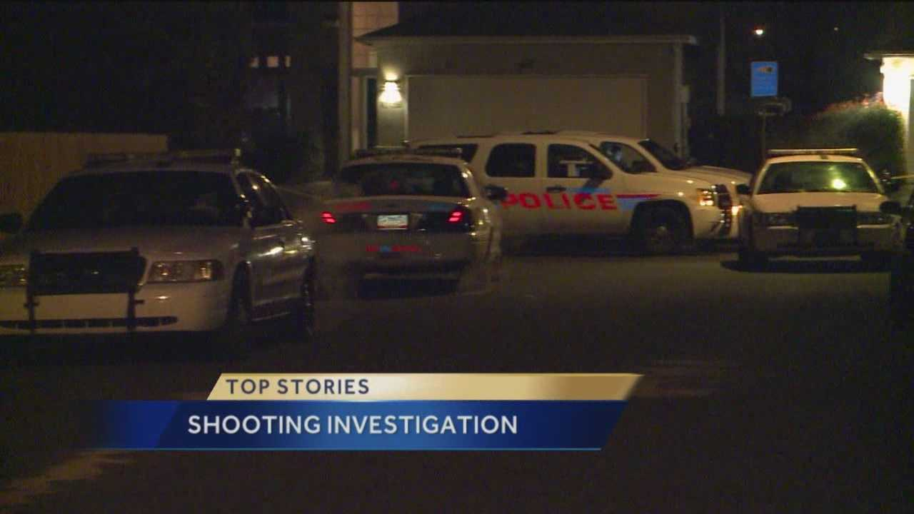 Someone was taken to the hospital after a shooting Sunday night in northwest Albuquerque.