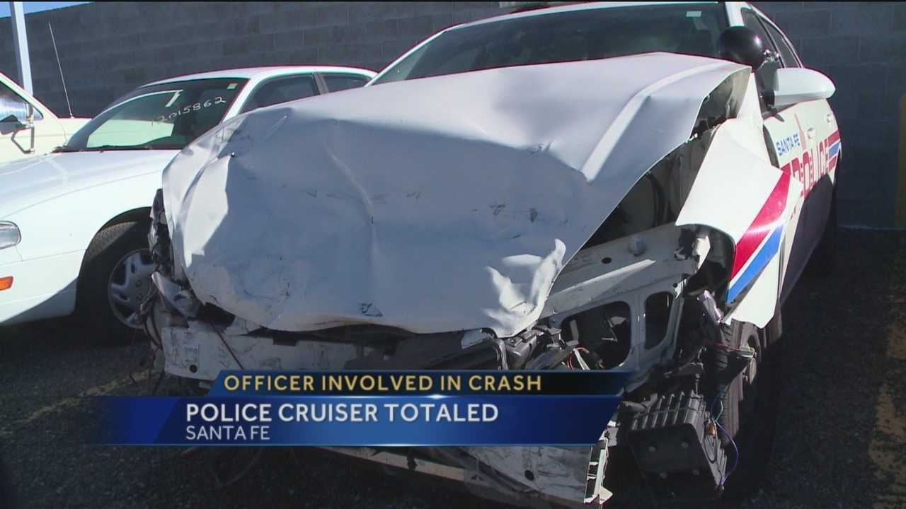 A Santa Fe police officer is recovering after being hit by a suspected drunk driver.