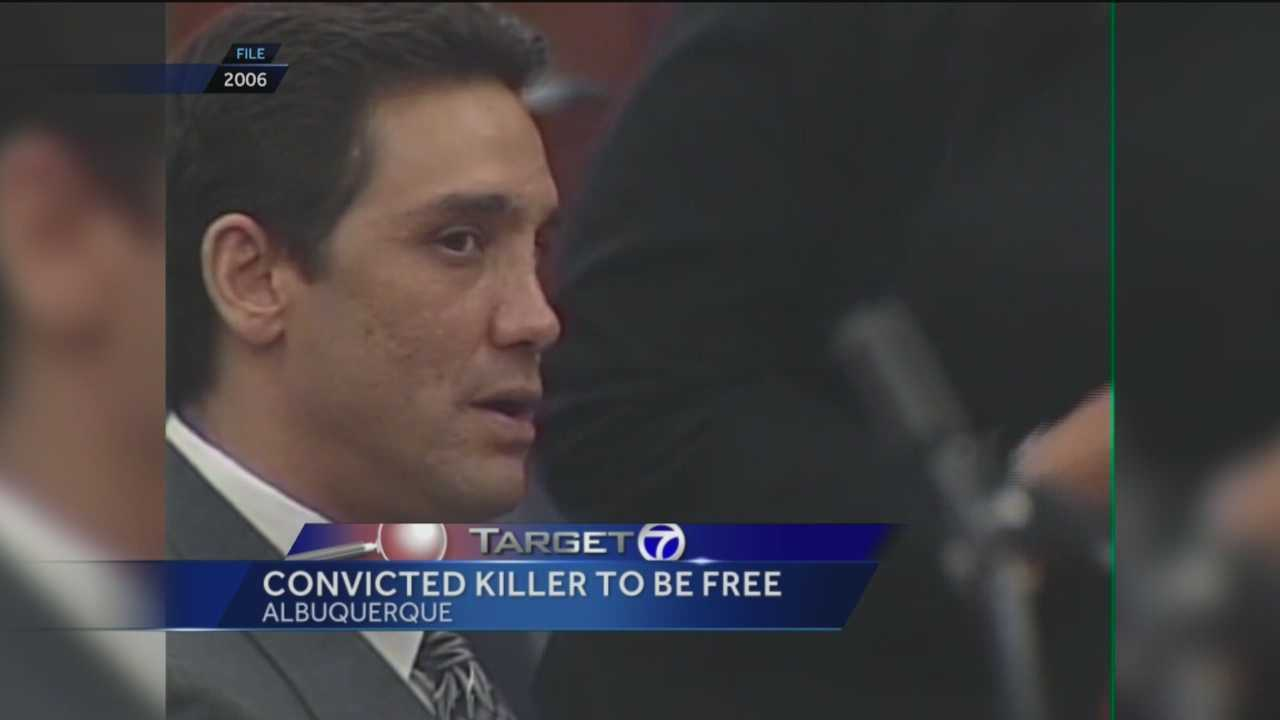 A man convicted of killing a Rio Rancho flight attendant is about to get out of prison.