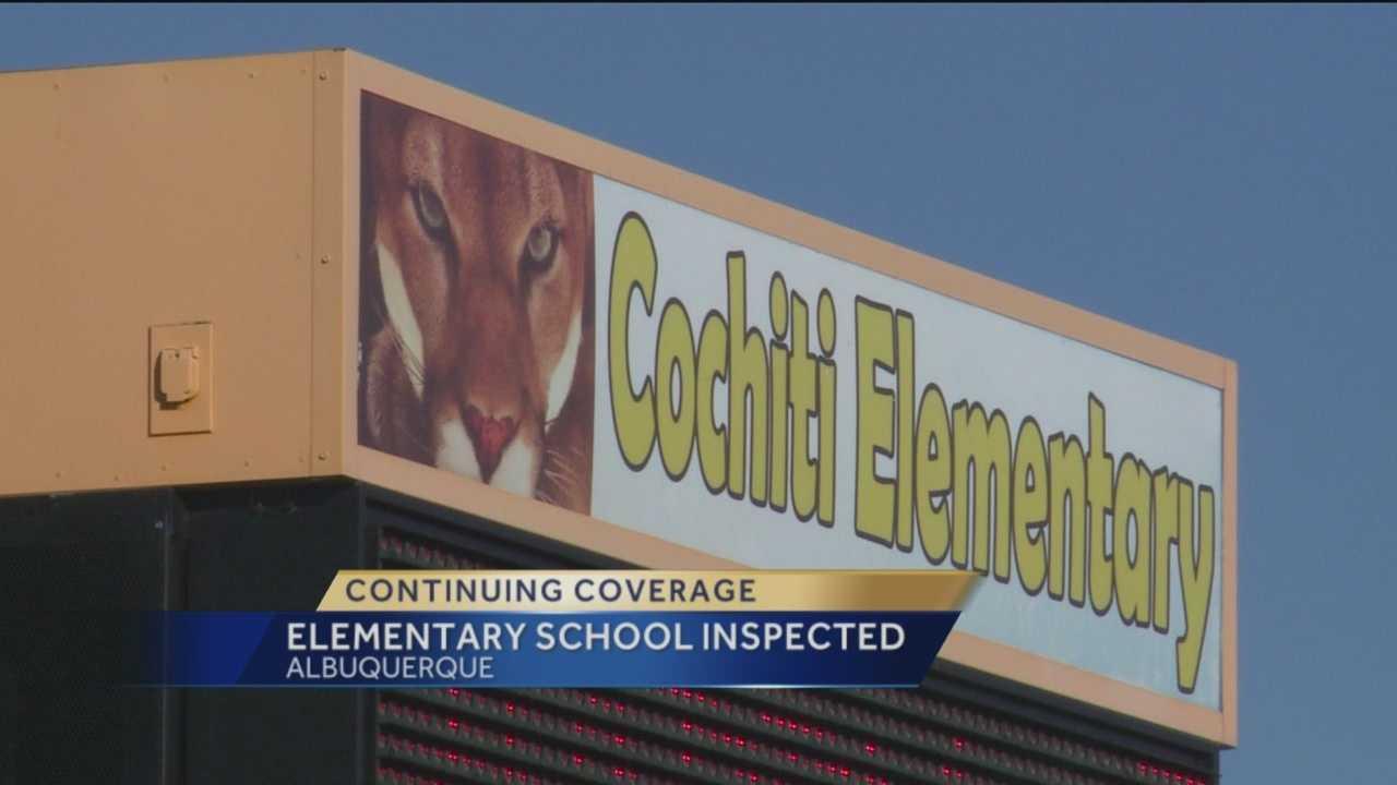 Albuquerque Public Schools confirms mice were recently found at Cochiti Elementary.