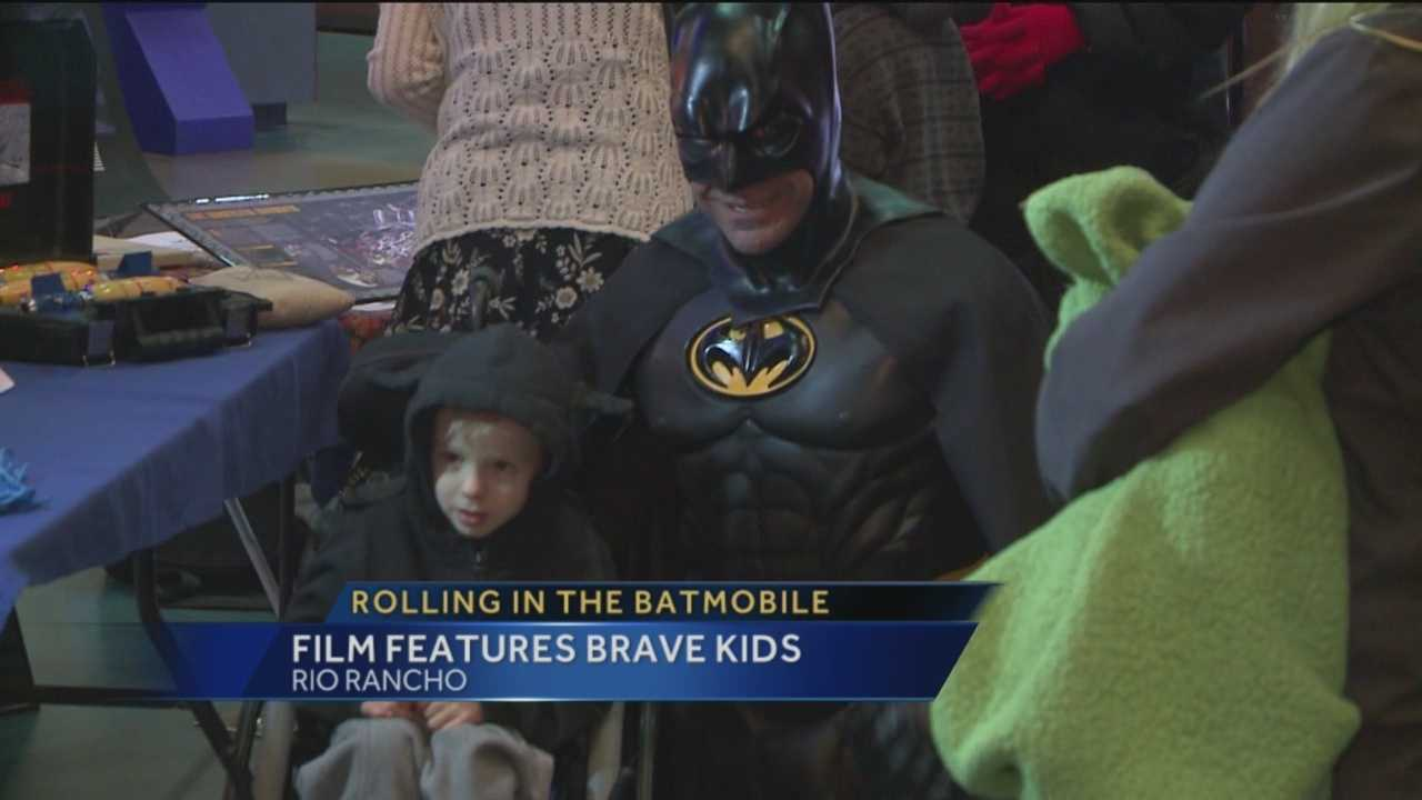If Albuquerque residents are wondering why they felt a little safer Wednesday, it's because Batman was looking out for you.
