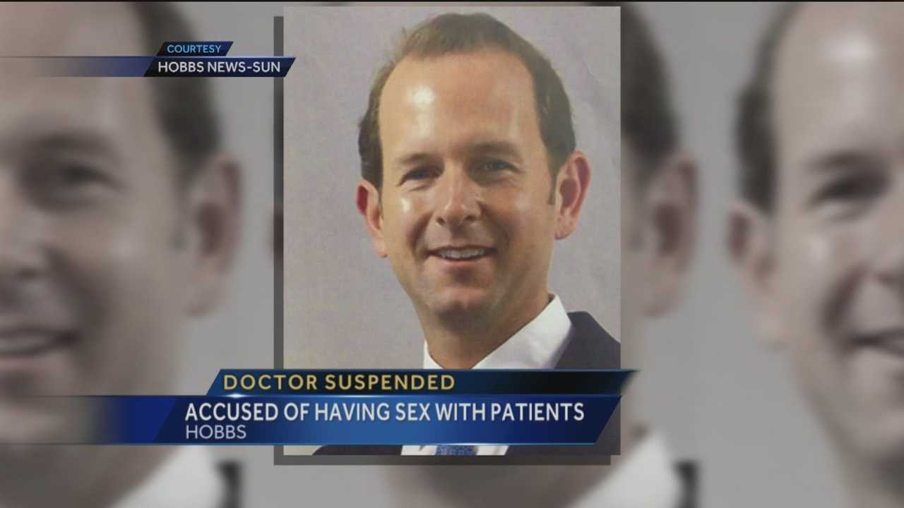 A doctor accused of having sex on the job is still suspended. On Thursday, the Medical Board decided he'll have to do a lot of work before he can see patients again.