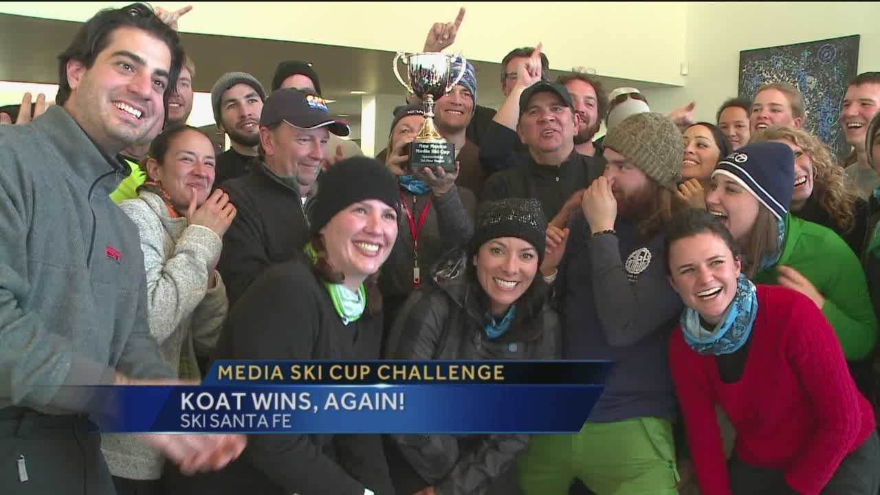 For the second straight year, KOAT brought home first place and the coveted New Mexico Ski Cup.