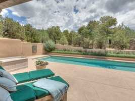 Take a peek inside this 5,500 square foot home for sale in Santa Fe that's featured on Realtor.com.