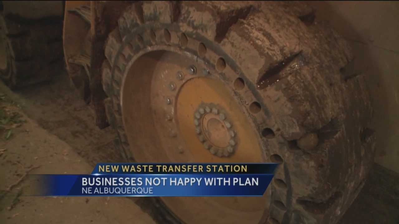 The city is proposing a new waste transfer station in Albuquerque's North Valley neighborhood, but a community group is not happy about the possibility of all that trash in the area.