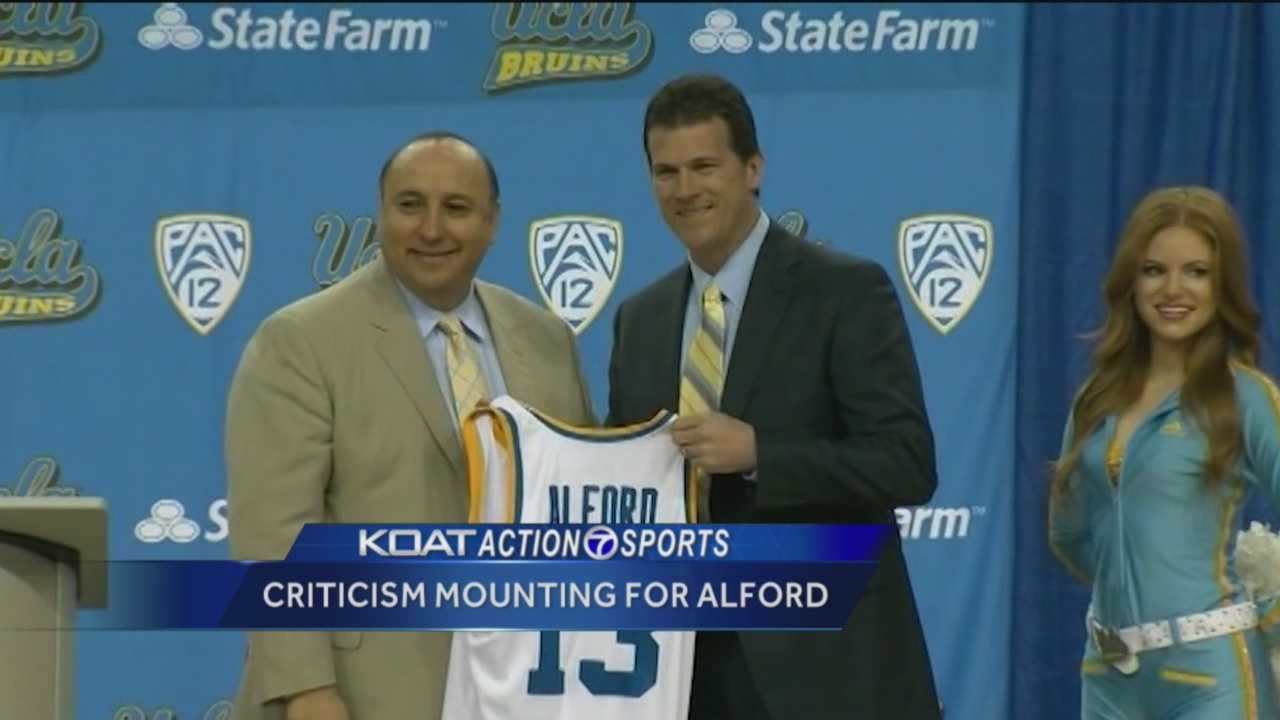 It's been a rough month for former Lobos basketball coach Steve Alford. KOAT Action 7 Sports Director Orlando Sanchez has the story.