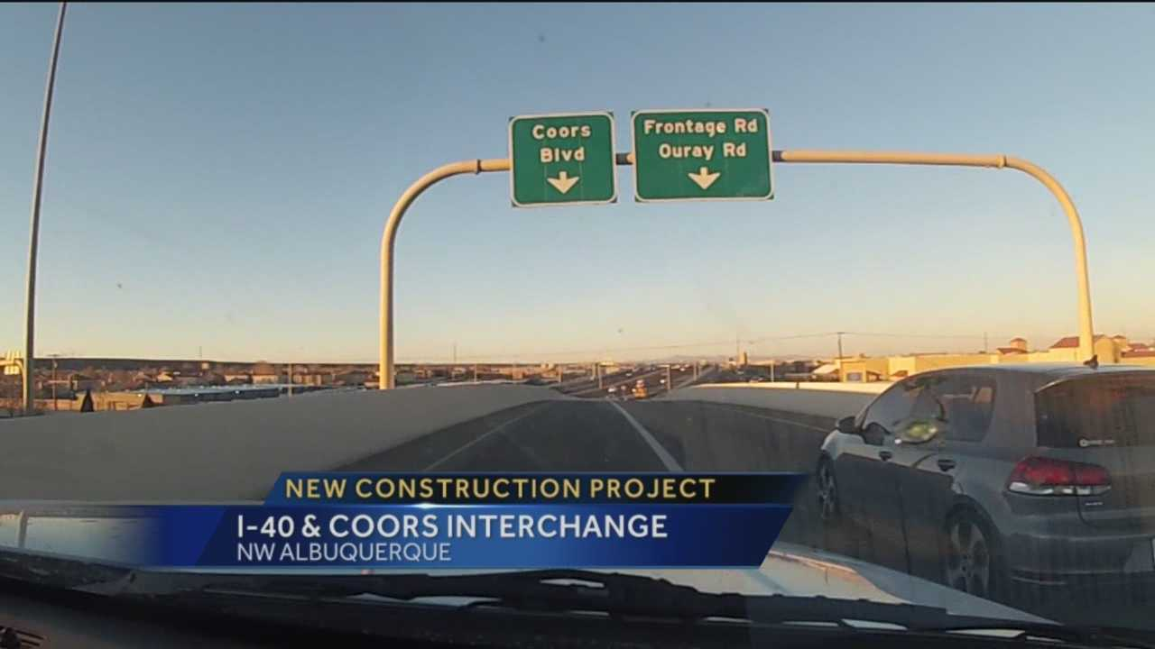 One month after the Paseo/I-25 Interchange was completed, another huge road project is on the way.