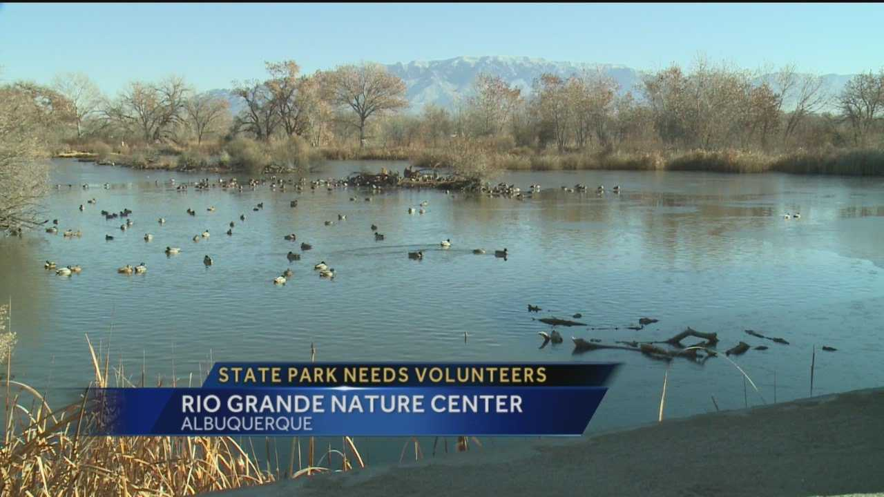The Rio Grande Nature Center is the only state park in the Albuquerque metropolitan area, and its staffing needs are enormous.