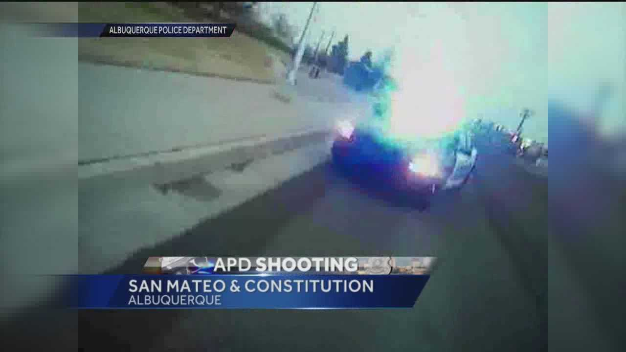 Albuquerque police have released lapel video of this week's deadly officer-involved shooting.