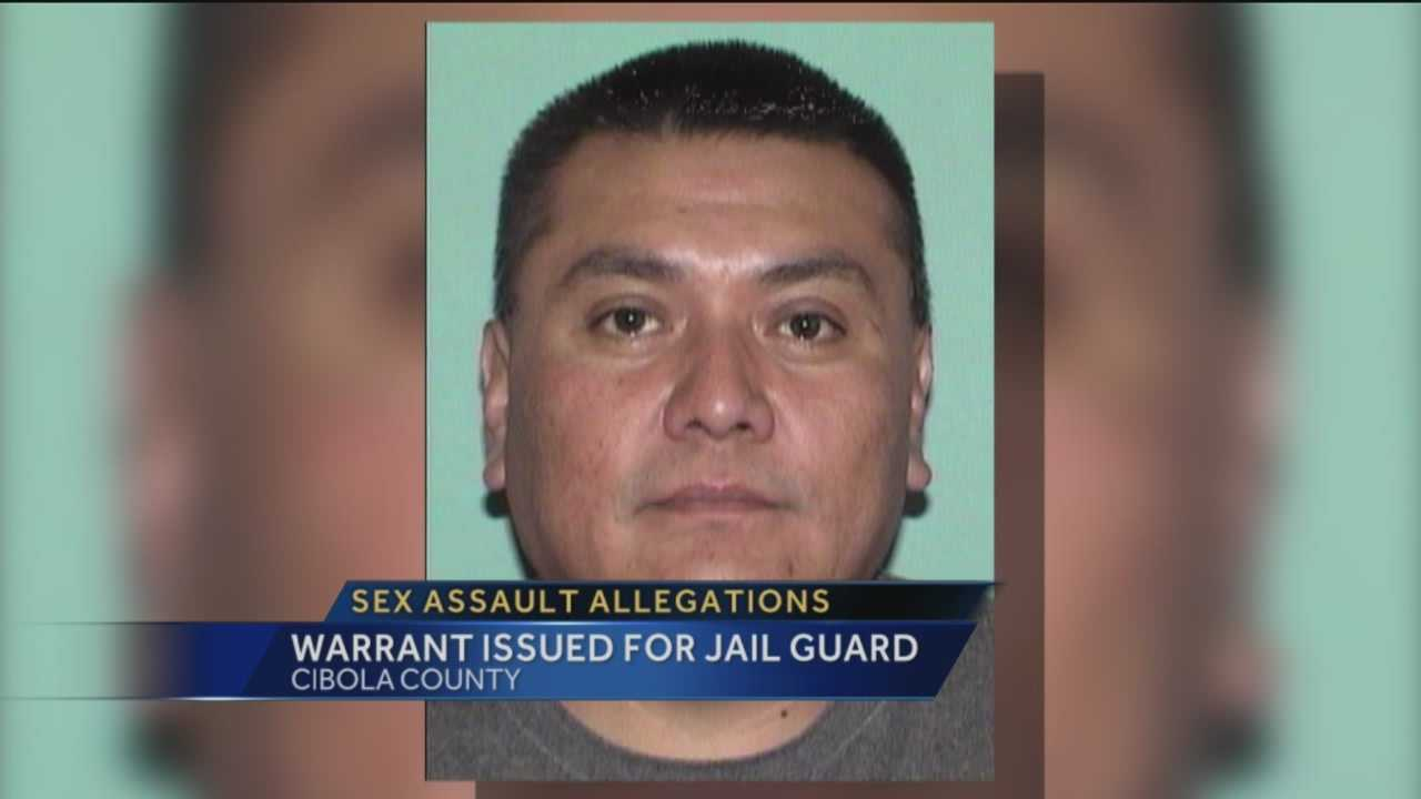 A Cibola county jail guard faces sex assault charges tonight.