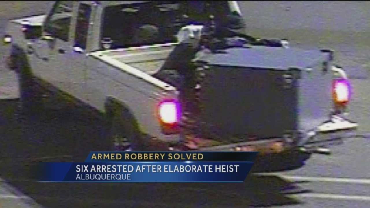 It was a daring heist that was unsolved for months but now the men accused of robbing an Albuquerque wal-mart and making off with the safe have been arrested.