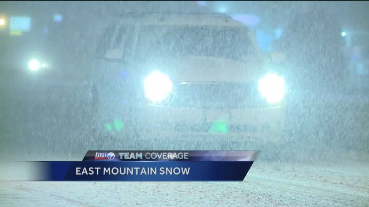 Team Coverage of Winter Storm