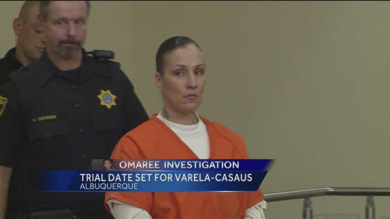 The mother accused of beating her son, Omaree Varela, to death will go on trial in October.