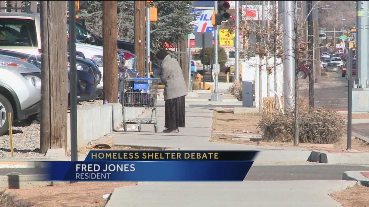 Some people in a Santa Fe neighborhood say they've seen bit problems since a homeless shelter moved in.