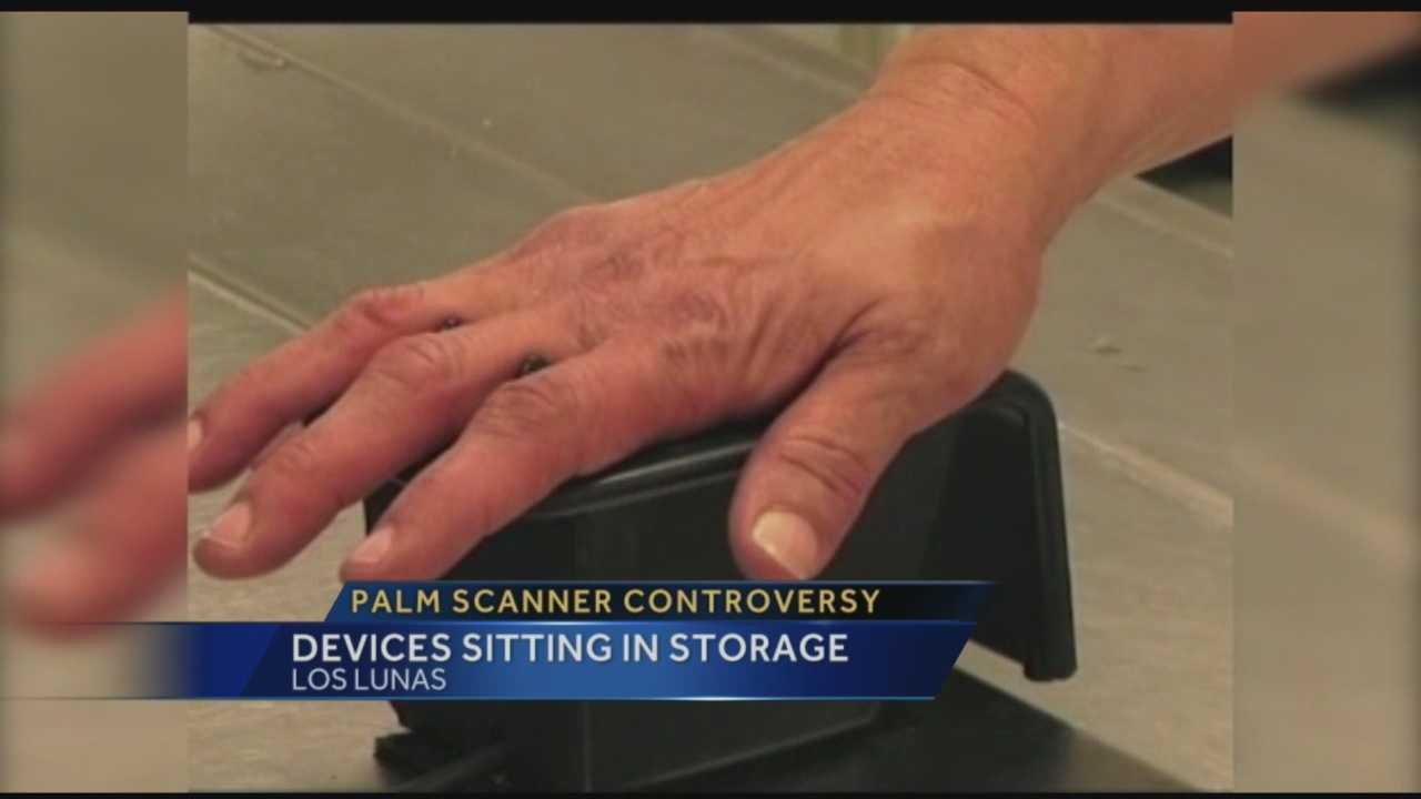 Palm Scanner Controversy