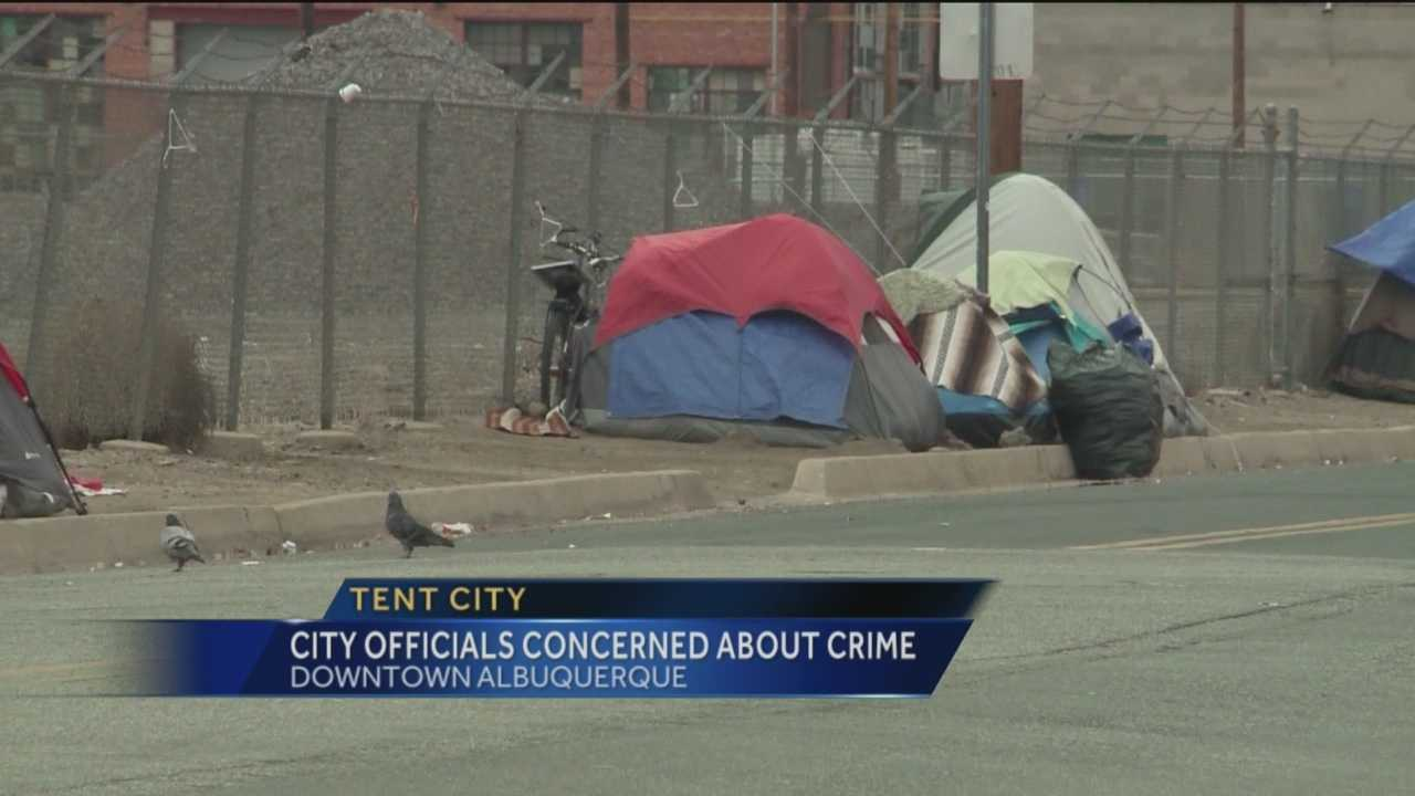 It started as a place for the homeless to camp, but it has turned into a hot spot for drugs and prostitution, according to police.