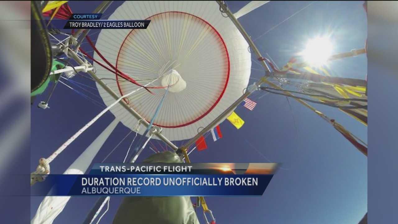 An Albuquerque balloon pilot has reached another big milestone.