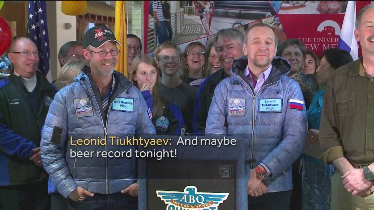 We are now hearing from those pilots for the first time since their historic flight.
