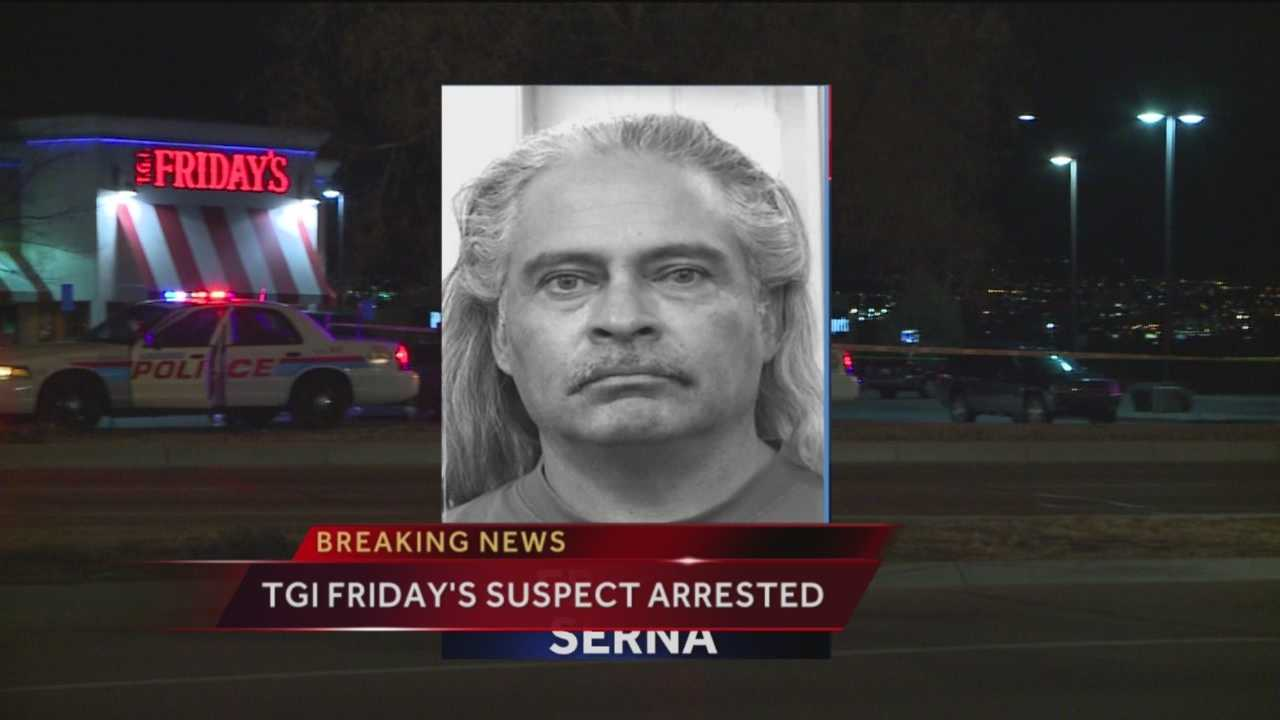 TGI Friday's Shooting Suspect Arrested