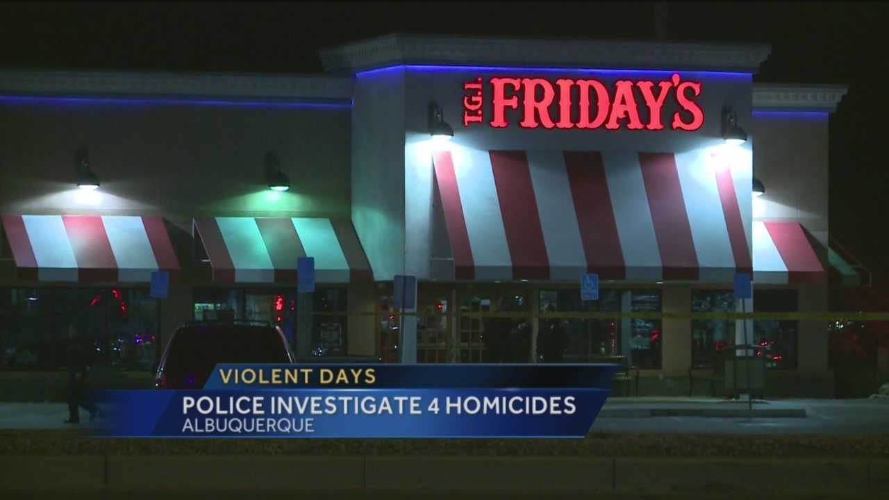In three days, Albuquerque police have responded to four homicides.