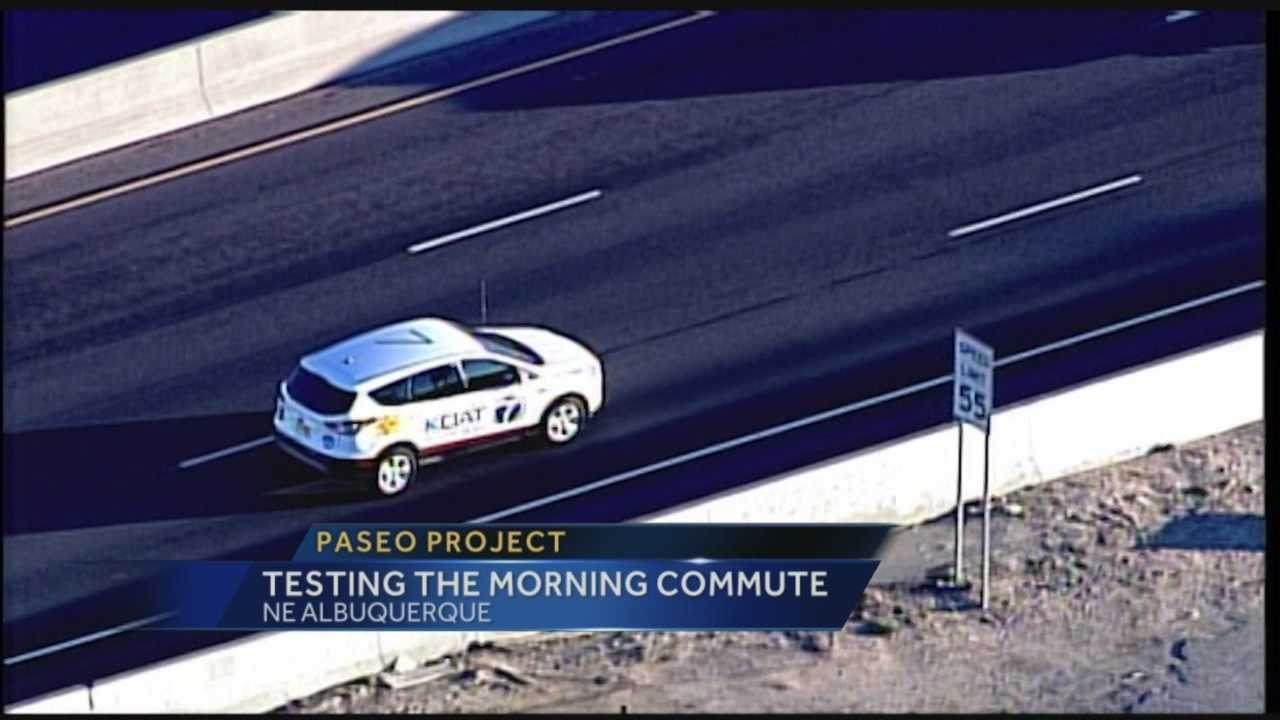 For years, Action 7 News has tested morning commute times around the Albuquerque metro area.