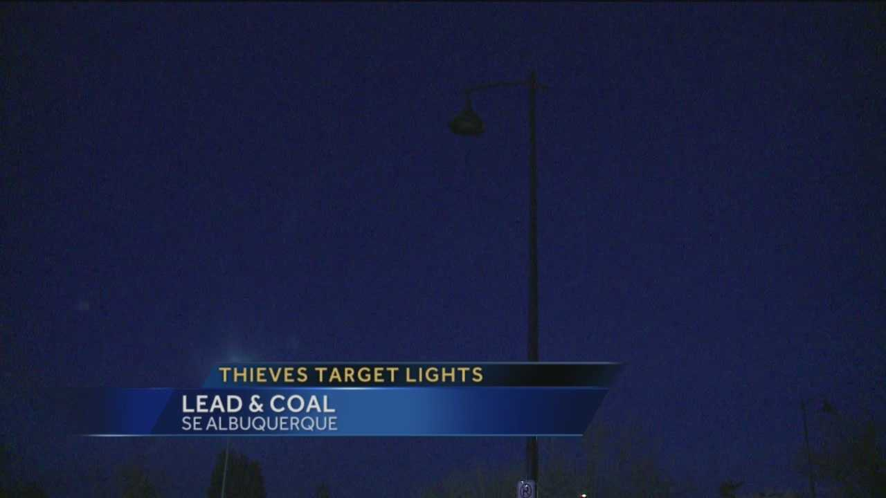 One of Albuquerque's busiest neighborhoods has been in the dark, for months.
