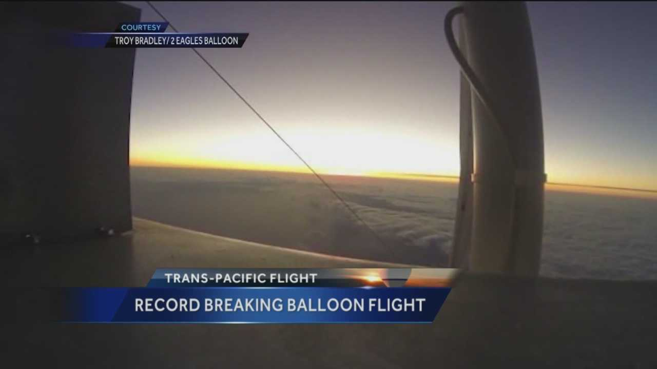 Albuquerque pilot Troy Bradley and his Russian co-pilot Leonid Tiukhtyaev spent 6 days and 16 hours in the air flying more than 6,600 miles during a recent record-breaking trip. Bradley sat down with KOAT Action 7 News to reflect on the trip.