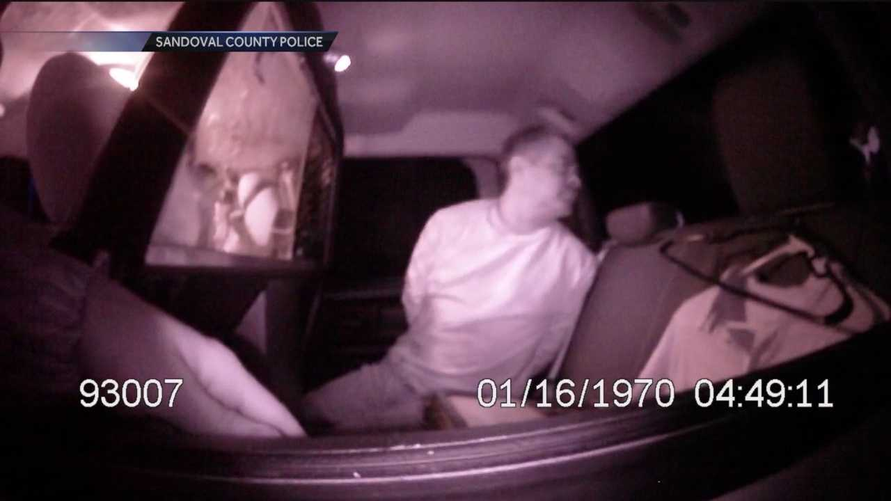 The following video, obtained by Action 7 News, shows how police captured a man wanted for murder.