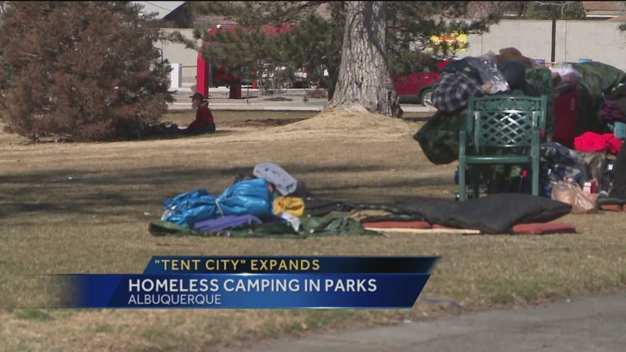 The last time we reported a homeless person was camping illegally in open space he was shot and killed.