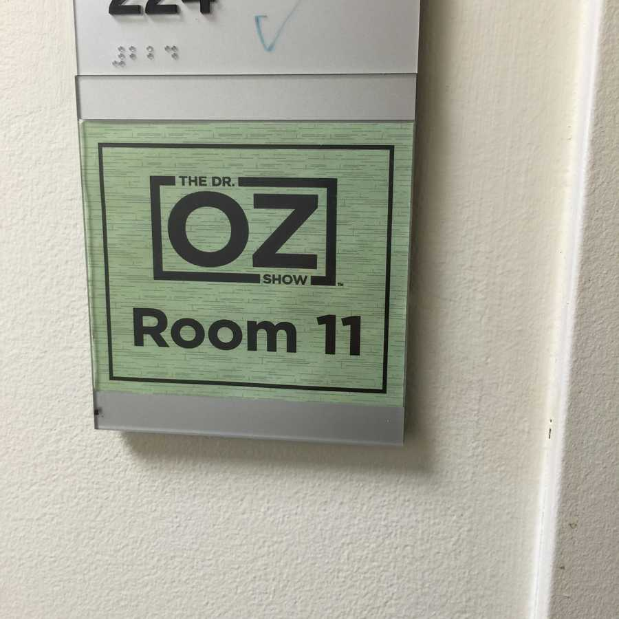 See photos from a recent taping of the Dr. Oz Show.