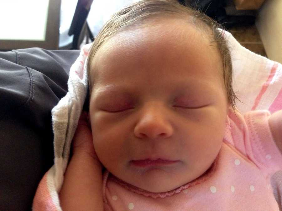 KOAT's Alana Grimstad welcomed her new daughter into the world last week.