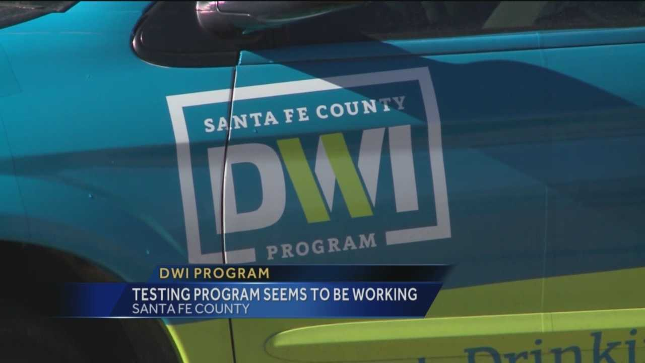A Santa Fe County program that aims to stop repeat DWI offenders is working well, according to officials.