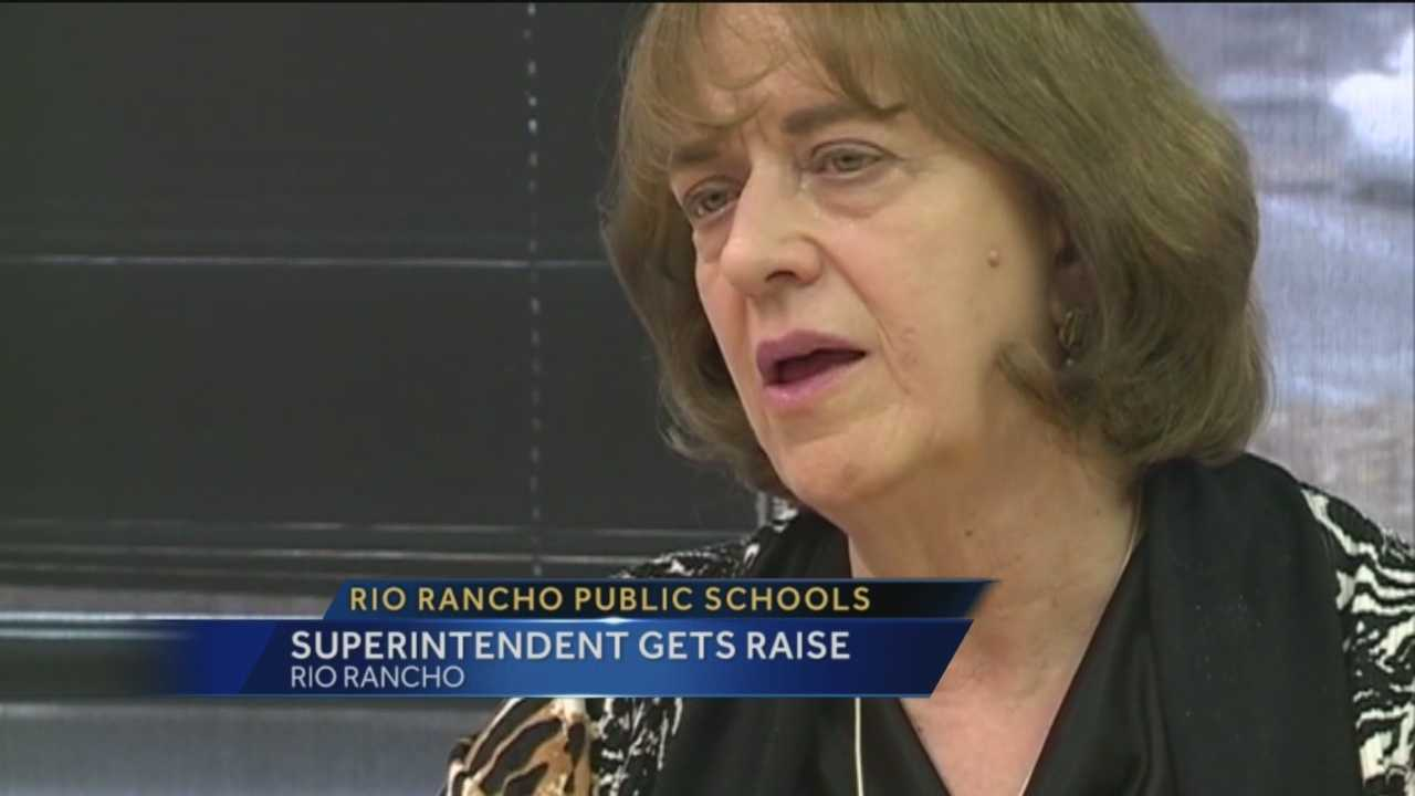 The only superintendent Rio Rancho Public Schools has ever known is going to stick around a little longer.