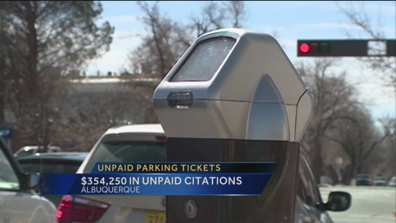 Parking Ticket Changes