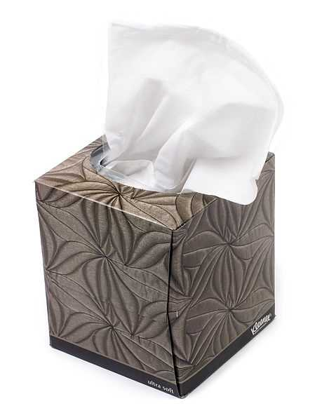 28. Drop tissues in the trash/don't flush them