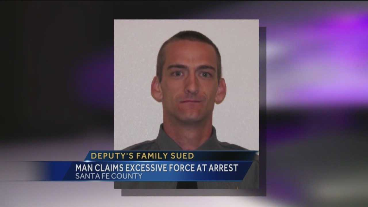 The estate of a Santa Fe deputy who was killed last year is being taken to court.