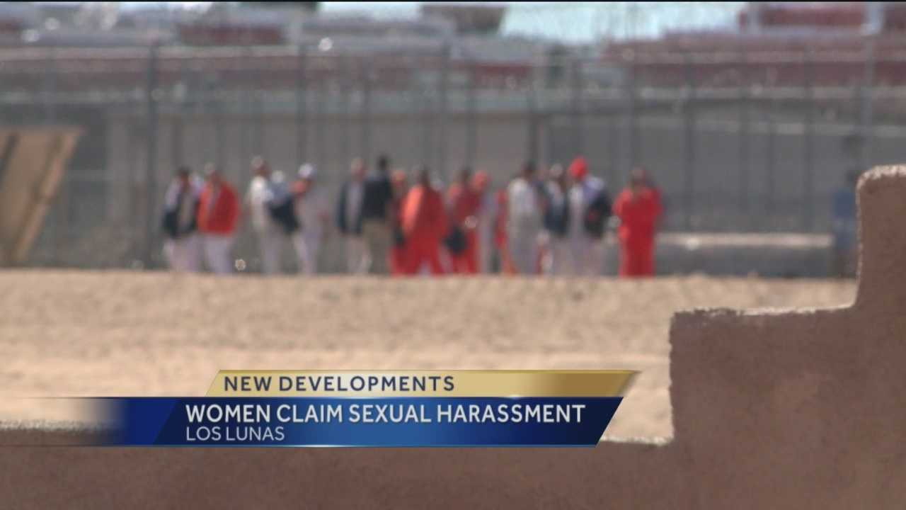 Top brass at a state prison in Los Lunas were recently placed on leave after female employees made claims of sexual harassment.