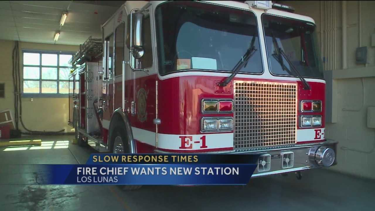 There's a new fire chief in Los Lunas and he's looking to make big changes.