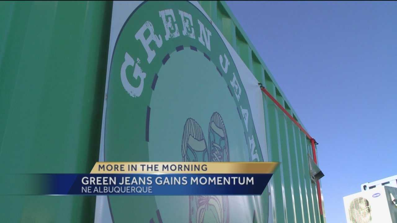 Green Jeans Gains Momentum
