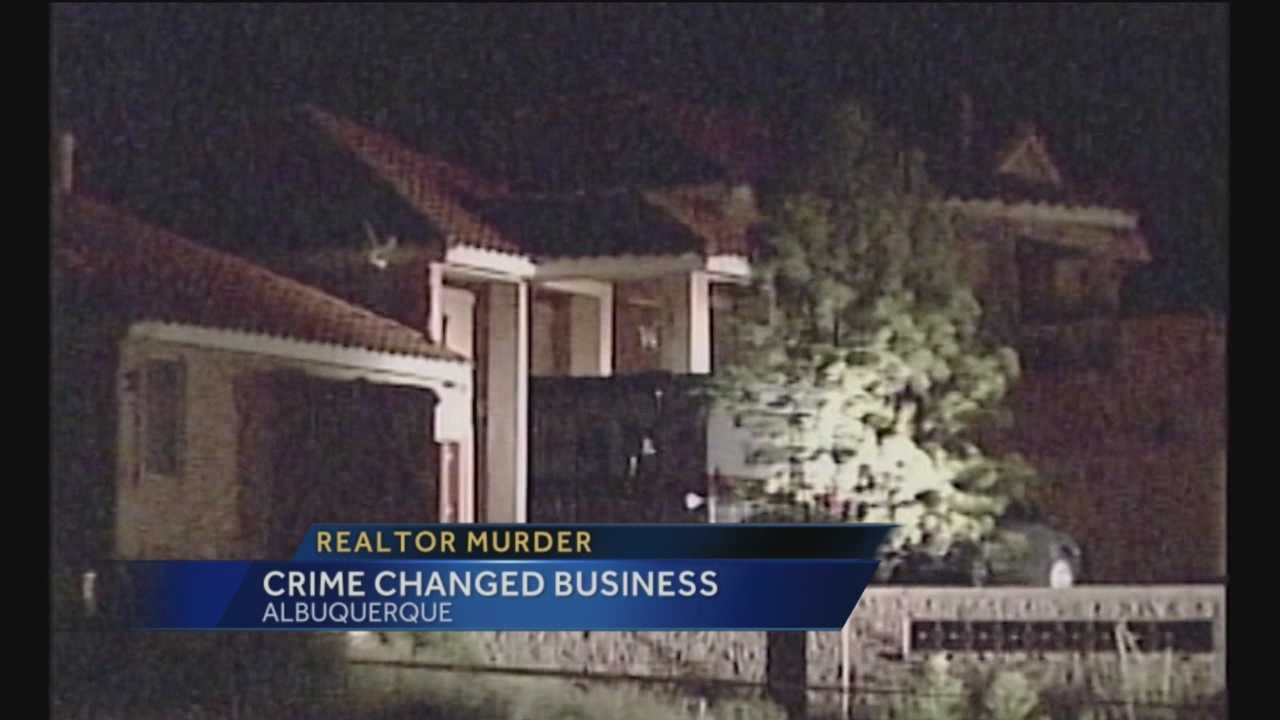 A decade-old killing still affects the way Albuquerque Realtors conduct their business.