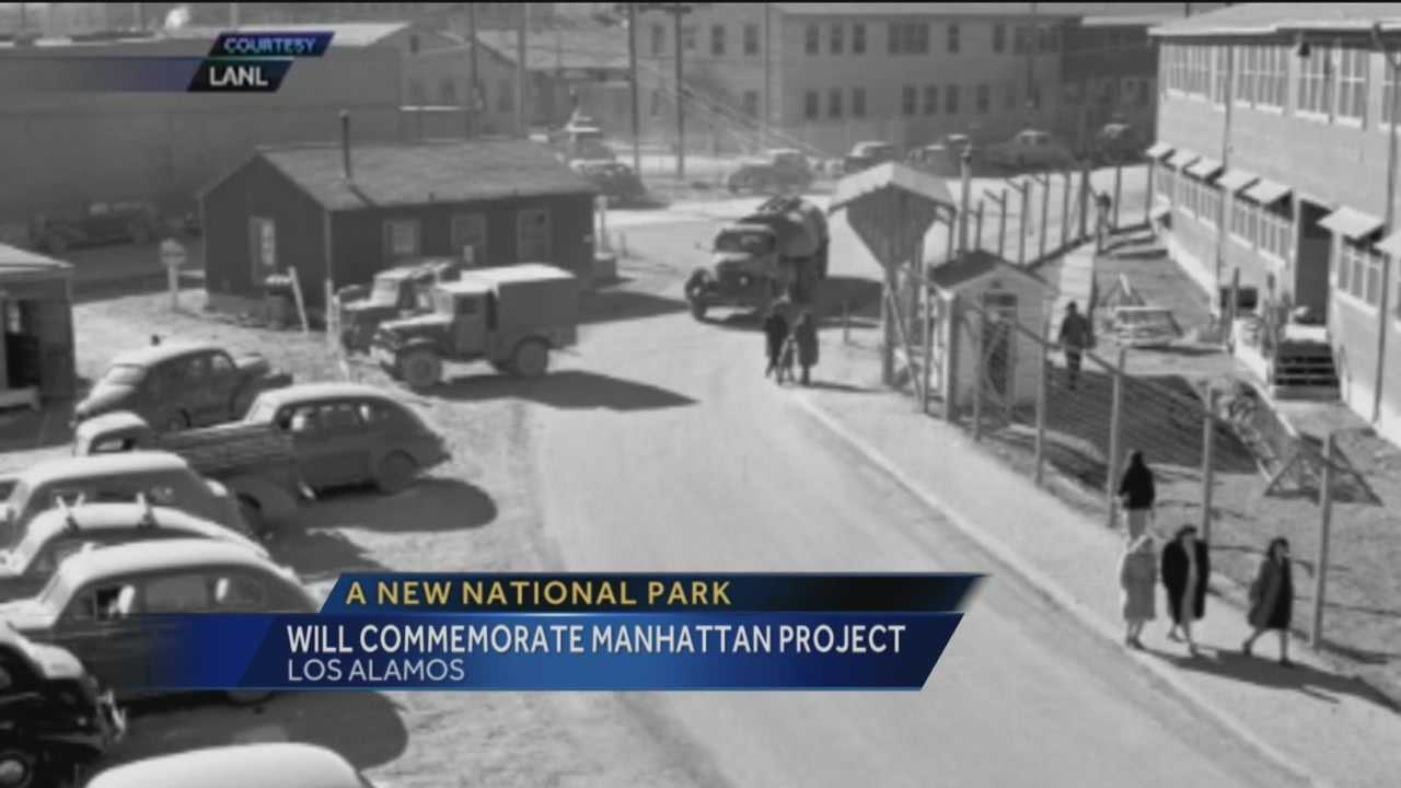 It took ten years, but finally, Los Alamos is getting a national historical park to honor the Manhattan Project.