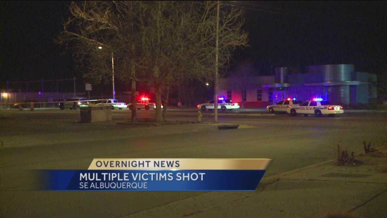 Albuquerque Police say 3 people were shot in South East Albuquerque early this morning.