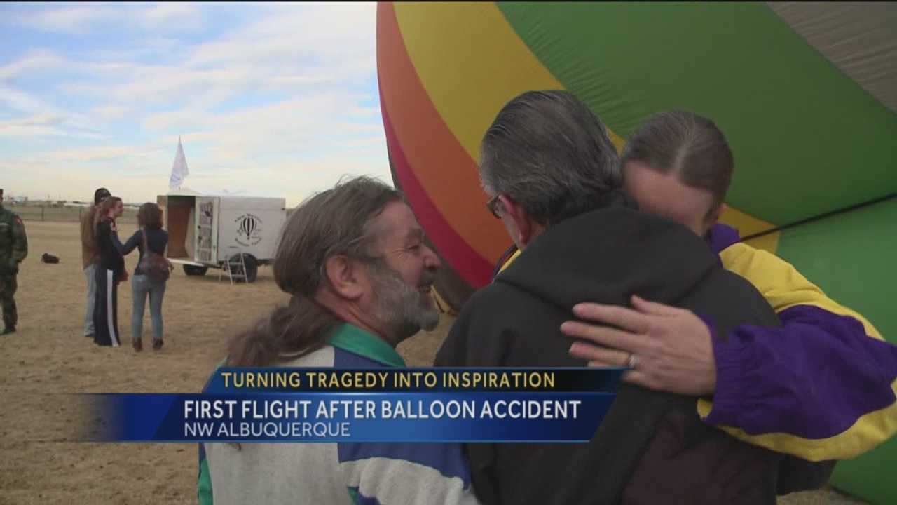 A terrifying hot air balloon crash in 2013 cost one pilot his arm and badly burned his body. KOAT Action 7 News reporter Mike Springer shows you what Danny Lovato did today to turn tragedy into inspiration.