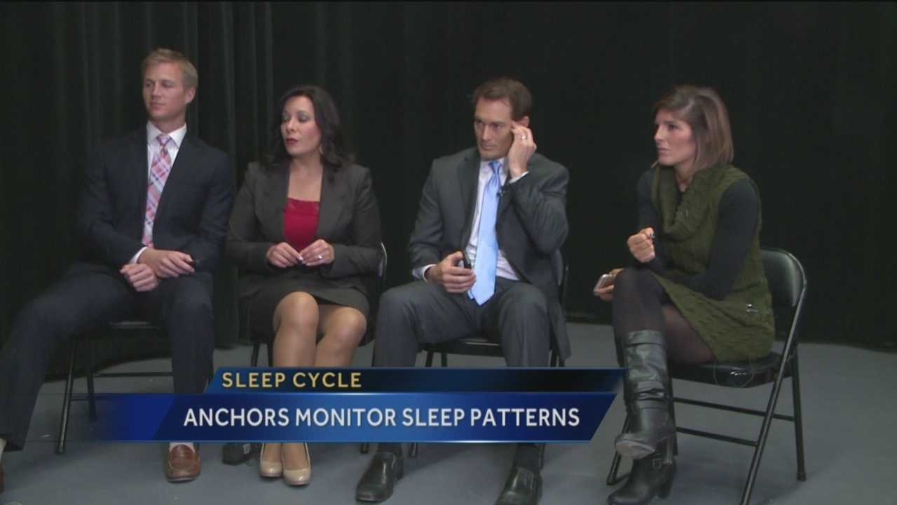"When some of you go to bed tonight, the KOAT morning crew will just be waking up. A few months ago, they tested the ""Sleep Cycle"" app to see if they were getting enough sleep. They found out, they weren't."
